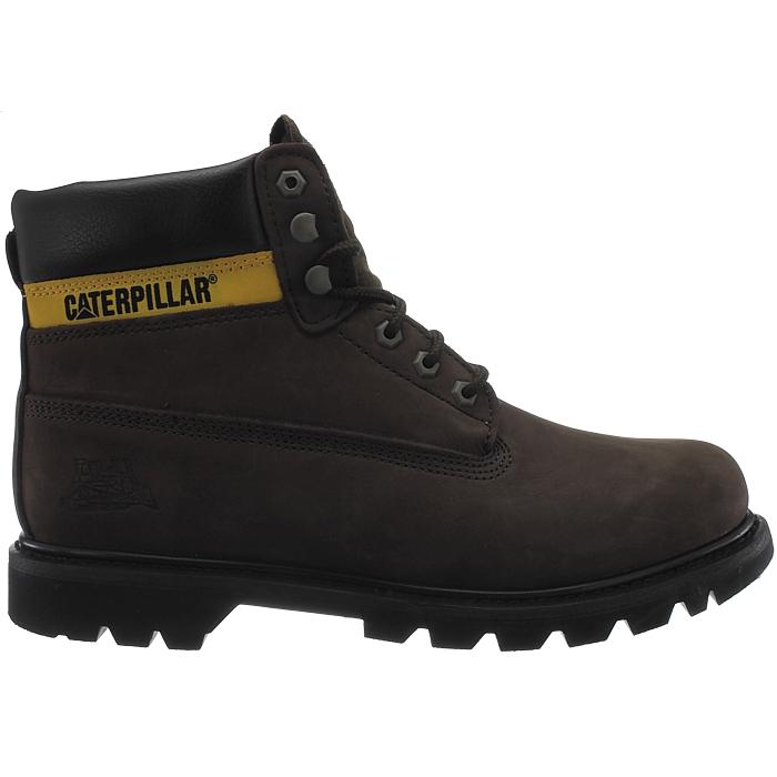 Caterpillar-Colorado-Noir-Marron-Beige-Messieurs-Cuir-Boots-Bottes-6-Couleurs-Neuf miniature 18