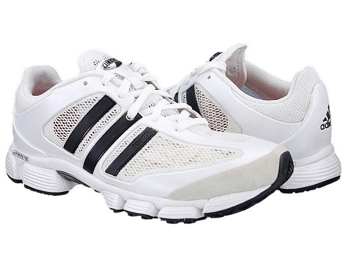 Adidas Adistar Team Herren-Laufschuhe weiß/beige/schwarz atmungsaktiv Running