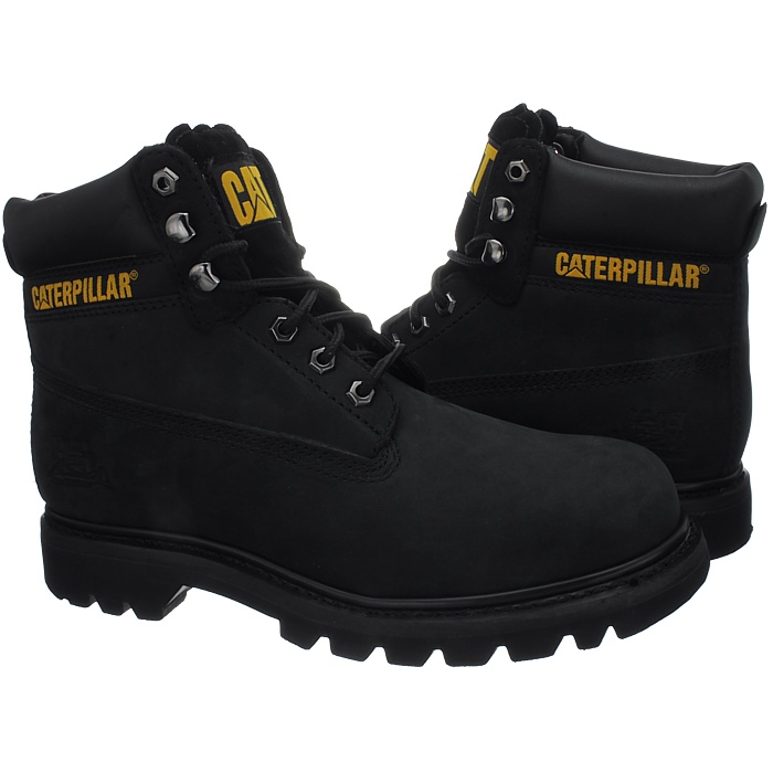 Caterpillar-Colorado-Noir-Marron-Beige-Messieurs-Cuir-Boots-Bottes-6-Couleurs-Neuf miniature 11