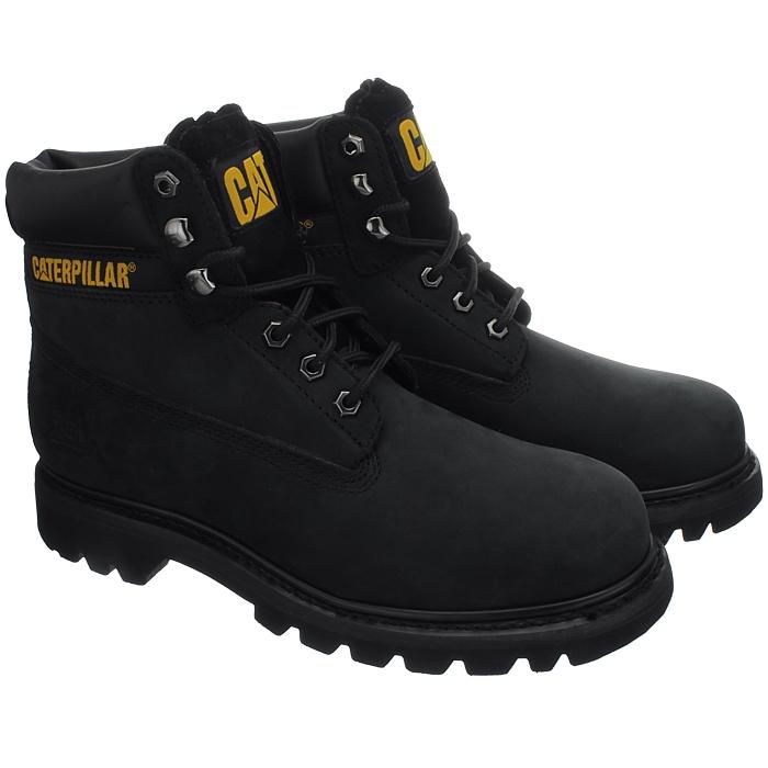 Caterpillar-Colorado-Noir-Marron-Beige-Messieurs-Cuir-Boots-Bottes-6-Couleurs-Neuf miniature 12
