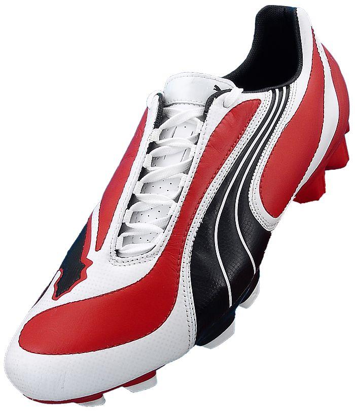 Herren Puma Fußball Schuhe 45 v3.08 FG rot schwarz neu
