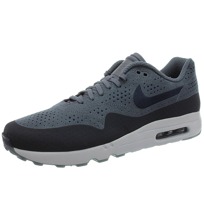 Details about Nike Air Max 1 Ultra 2.0 Moire men's low top sneakers bluewhite casual shoes
