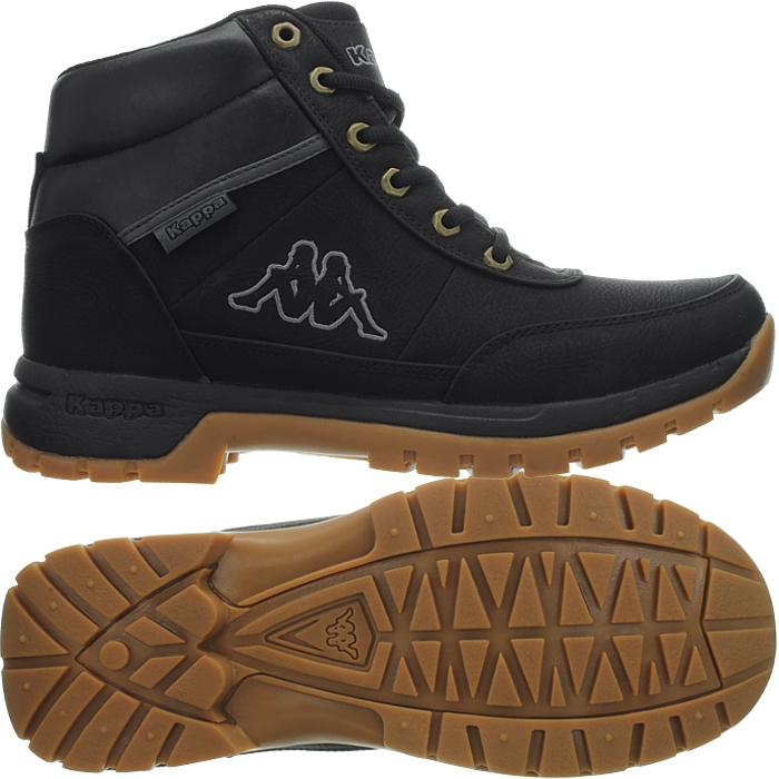 ebb21dbae27 Details about Kappa Bright Mid men's winter boots black hiking booties NEW