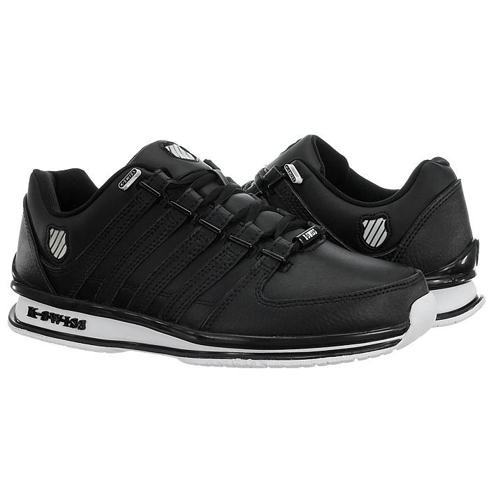miniatura 7 - K-Swiss-Rinzler-SP-6-Farben-Herren-Leder-Low-Top-Sneakers-Freizeitschuhe-NEU