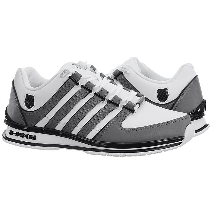 miniatura 23 - K-Swiss-Rinzler-SP-6-Farben-Herren-Leder-Low-Top-Sneakers-Freizeitschuhe-NEU