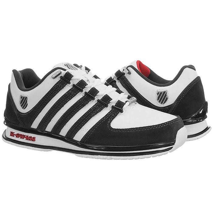 miniatura 19 - K-Swiss-Rinzler-SP-6-Farben-Herren-Leder-Low-Top-Sneakers-Freizeitschuhe-NEU