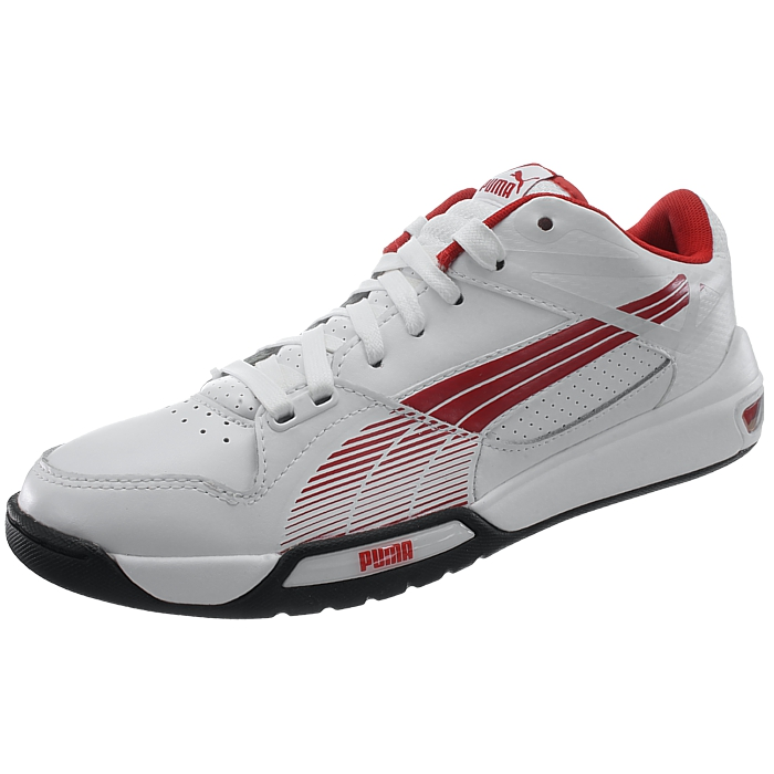 PUMA Hypermoto Niedrig Herren weiß/rot low-top Sneakers Ducati rot/schwarz oder weiß/rot Herren NEU a078c0