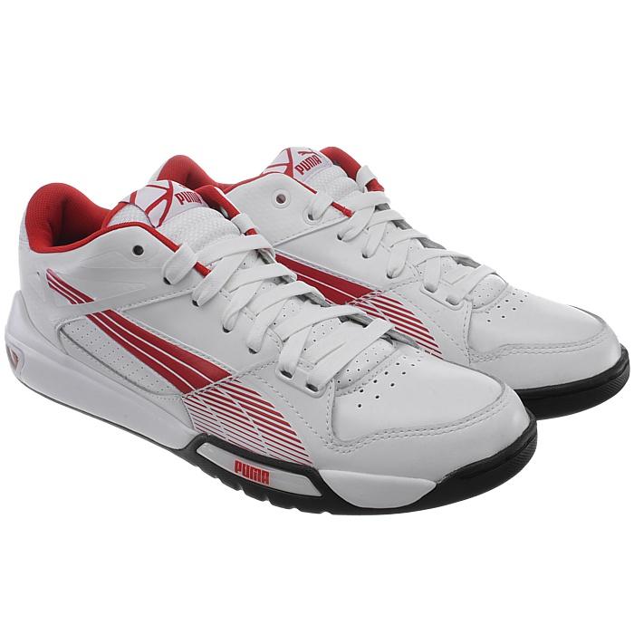 PUMA Hypermoto Low Herren weiß/rot low-top Sneakers Ducati rot/schwarz oder weiß/rot Herren NEU f9938e