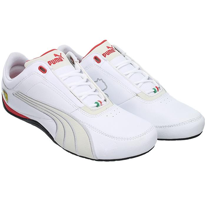 Puma Drift Cat 4 white Scuderia Ferrari Men s Fashion Sneakers Shoes ... 53cc2b861