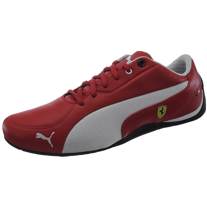 9d5a3f482874f Stylish sneaker in a dynamic look and fashionable leather synthetic mix  with Ferrari details