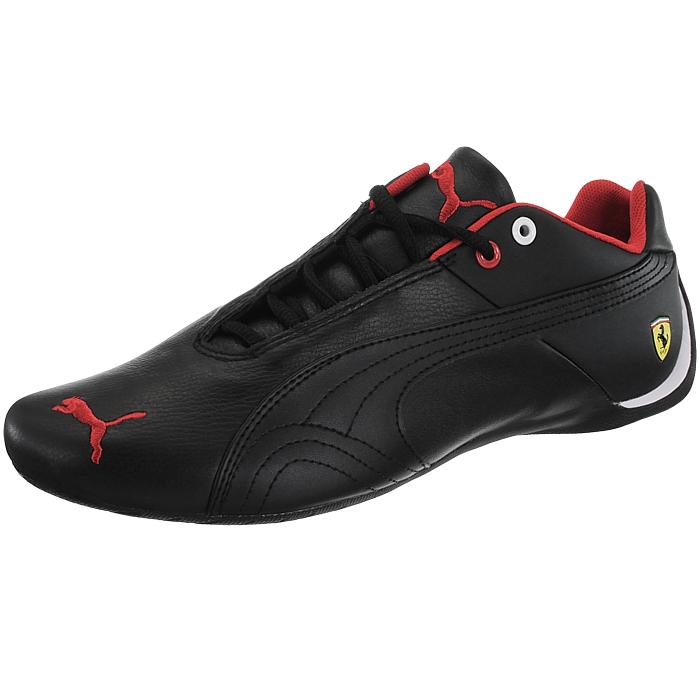 4880da5528a342 Details about Puma Future Cat Leather SF black men s Low-Top sneakers trainers  Ferrari NEW