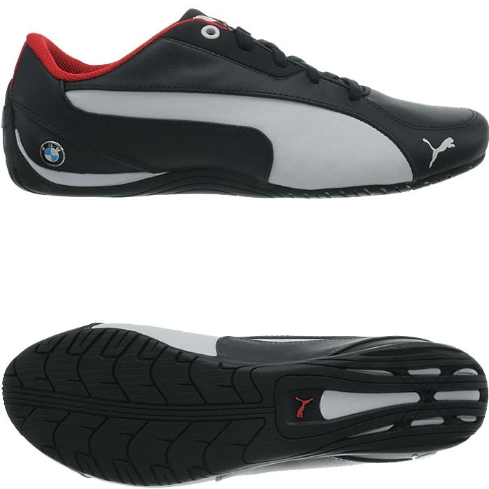 Details zu PUMA MS Drift Cat 5 BMW Edition Herren Freizeitschuhe edle Sneaker Glattleder
