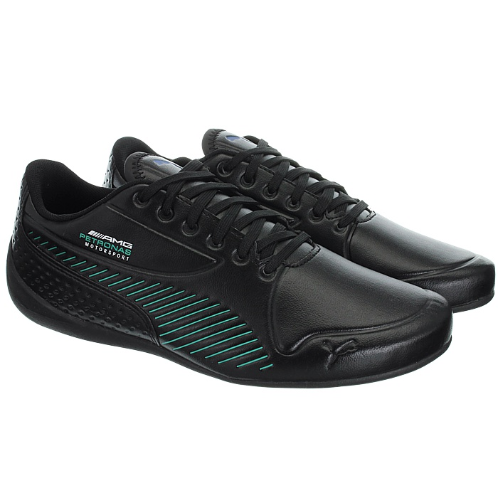 Puma Mercedes AMG Petronas Drift Cat 7S Ultra black men/'s low-top sneakers NEW