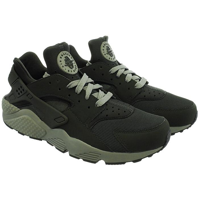 Details zu Nike Air Huarache Herren mid cut Sneakers beige grün Freizeit Sportschuhe NEU