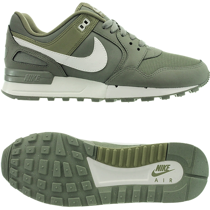Nike Air Pegasus 89 Herren low-top Running Sneakers grün grau Retro ...