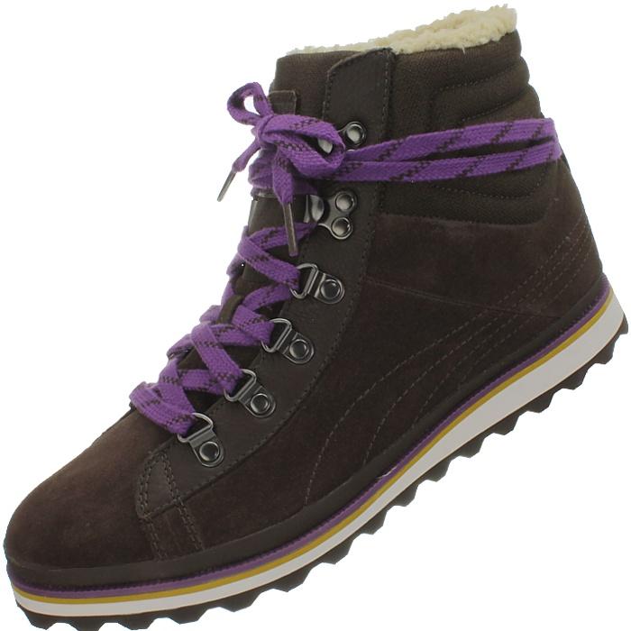 PUMA City Snow Boot women's winter boots brown/beige