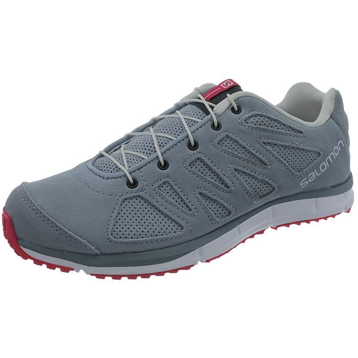 a7a6bf235704 Salomon Kalalau women s hiking shoes blue grayblue Sued Trekking ...