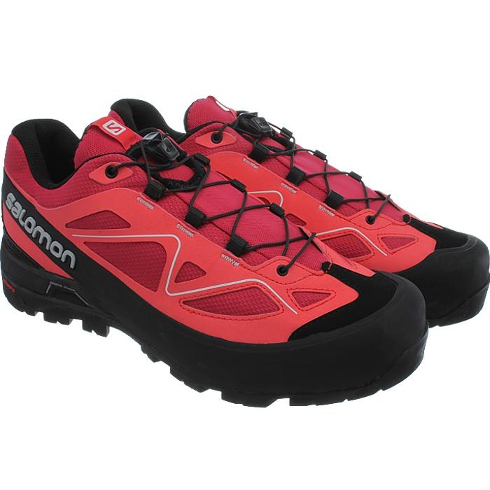 Salomon X Alp señora trekking zapatos gris Pink botín de senderisml zustiegsschuhe nuevo