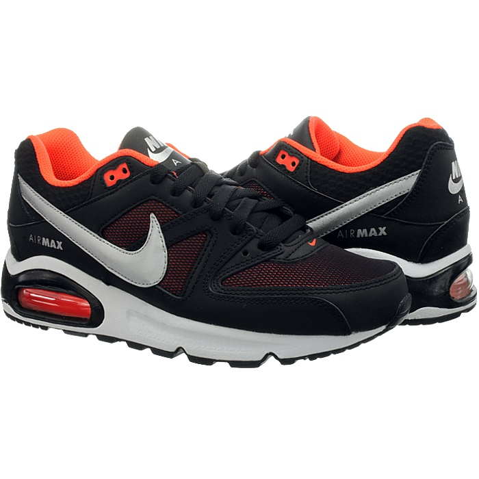 Reduced Nike Air Max Command Schwarz Orange 9d117 Bba4a