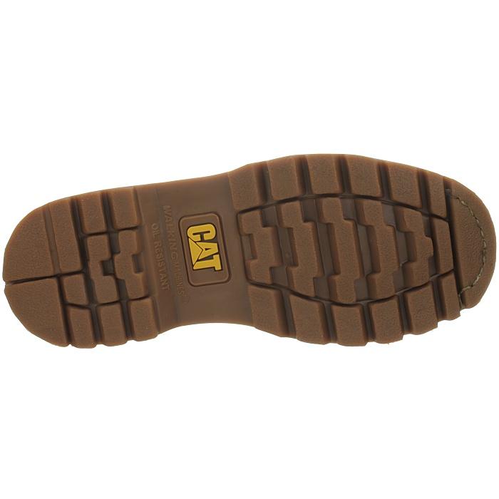 Caterpillar-Colorado-Noir-Marron-Beige-Messieurs-Cuir-Boots-Bottes-6-Couleurs-Neuf miniature 5