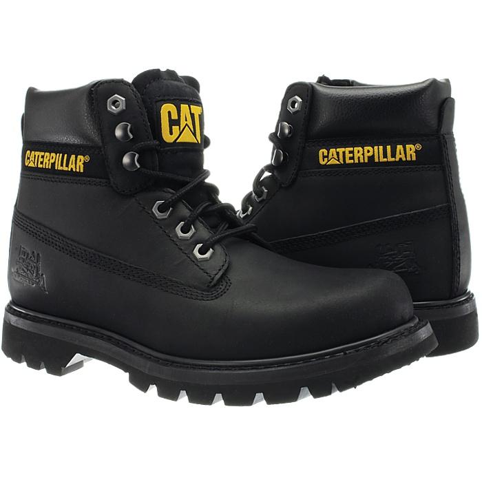 Caterpillar-Colorado-Noir-Marron-Beige-Messieurs-Cuir-Boots-Bottes-6-Couleurs-Neuf miniature 27