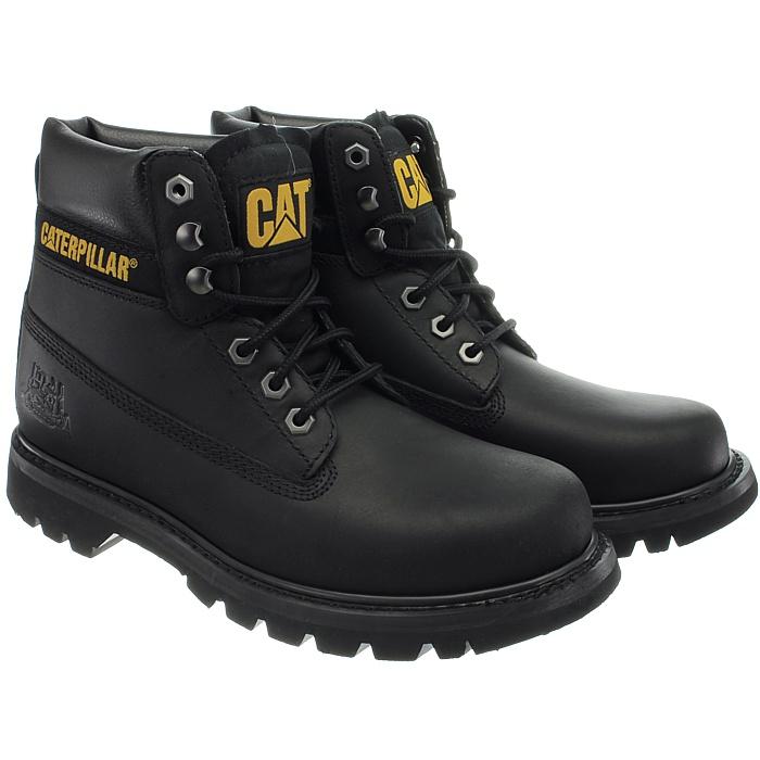 Caterpillar-Colorado-Noir-Marron-Beige-Messieurs-Cuir-Boots-Bottes-6-Couleurs-Neuf miniature 28