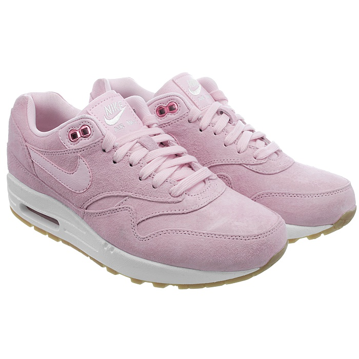 c9f5826a29e Details about Nike Air Max 1 SD women's low-top sneakers pink suede casual  shoes NEW