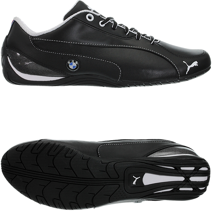 Dettagli su PUMA Drift Cat 5 BMW NM Nero UOMO Low Top Sneakers Scarpe in Pelle Tempo Libero Nuovo mostra il titolo originale