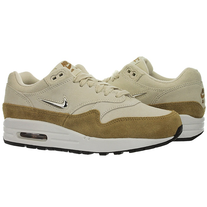 Details about Nike Wmns Air Max 1 Premium SC Beige Womens Suede Sneakers Casual Shoes New show original title