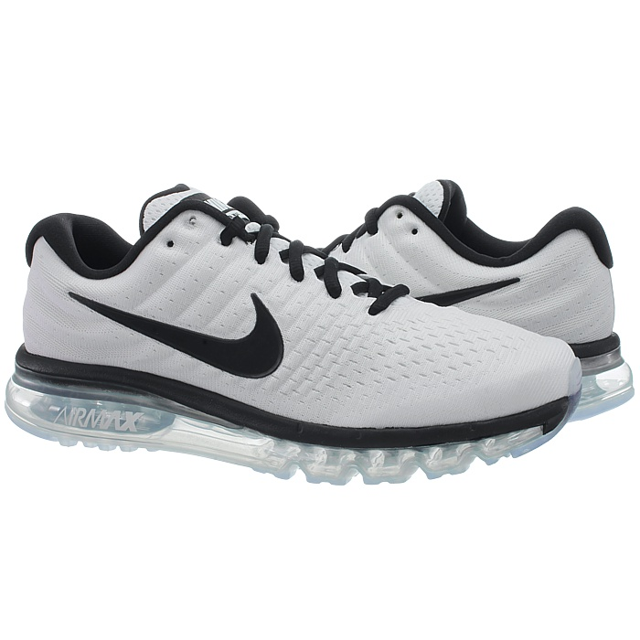 Nike Air Max 2017 Men Running Run SNEAKERS White Black 849559-105 10. About  this product. Picture 1 of 5; Picture 2 of 5; Picture 3 of 5 ...