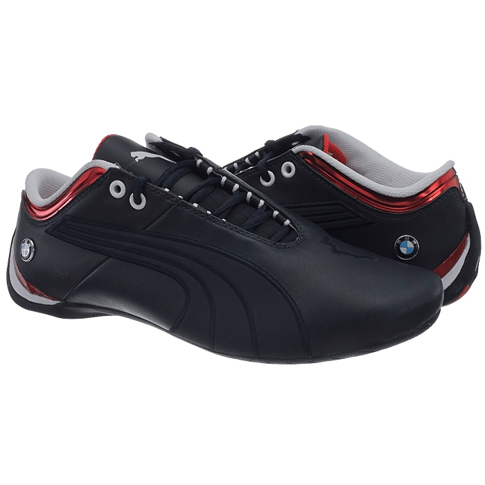 Stylish sneakers from the Puma racing family made of genuine leather with  Cat logo 33b30b0da
