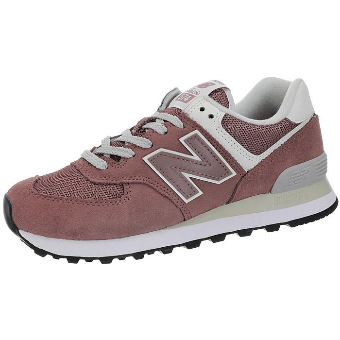 New-Balance-wl574-Femmes-Low-top-Baskets-5-Couleurs-Daim-Chaussures-Loisirs-Neuf miniature 5