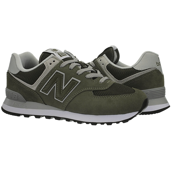New-Balance-ml574-Classic-574-Hommes-Daim-Low-top-Baskets-RARE-NEUF miniature 39