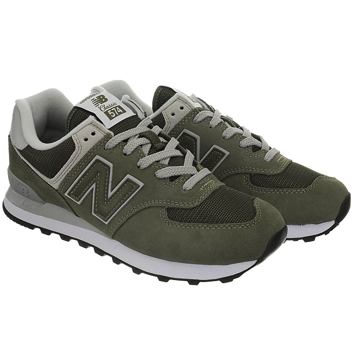 New-Balance-ml574-Classic-574-Hommes-Daim-Low-top-Baskets-RARE-NEUF miniature 40