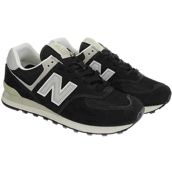 New-Balance-ml574-Classic-574-Hommes-Daim-Low-top-Baskets-RARE-NEUF miniature 24