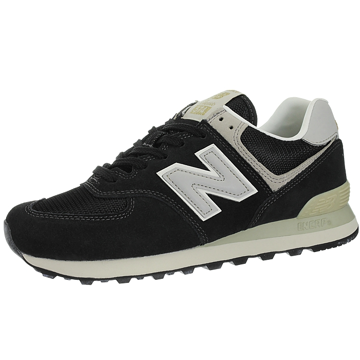 New-Balance-ml574-Classic-574-Hommes-Daim-Low-top-Baskets-RARE-NEUF miniature 25