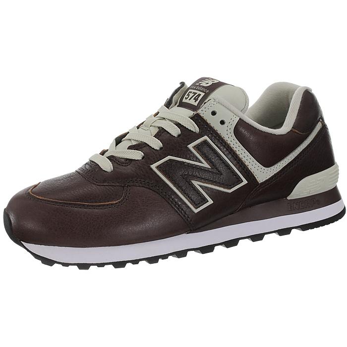 New-Balance-ML574-Leather-Herren-Vollleder-Fashion-Sneakers-Schuhe-3-Farben miniatuur 21