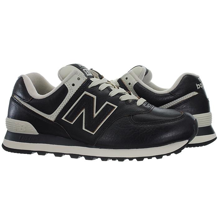 New-Balance-ML574-Leather-Herren-Vollleder-Fashion-Sneakers-Schuhe-3-Farben miniatuur 15