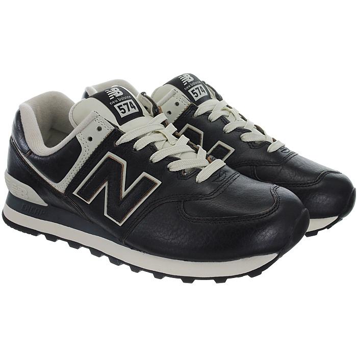 New-Balance-ML574-Leather-Herren-Vollleder-Fashion-Sneakers-Schuhe-3-Farben miniatuur 16