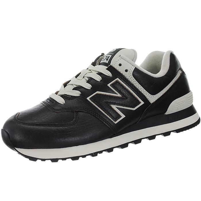 New-Balance-ML574-Leather-Herren-Vollleder-Fashion-Sneakers-Schuhe-3-Farben miniatuur 17