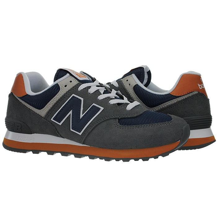 New-Balance-ml574-Classic-574-Hommes-Daim-Low-top-Baskets-RARE-NEUF miniature 27