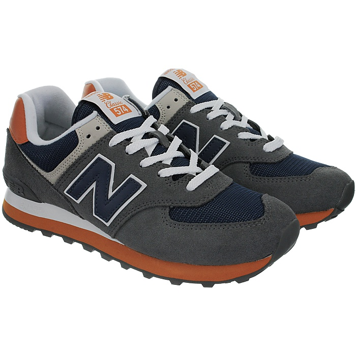 New-Balance-ml574-Classic-574-Hommes-Daim-Low-top-Baskets-RARE-NEUF miniature 28