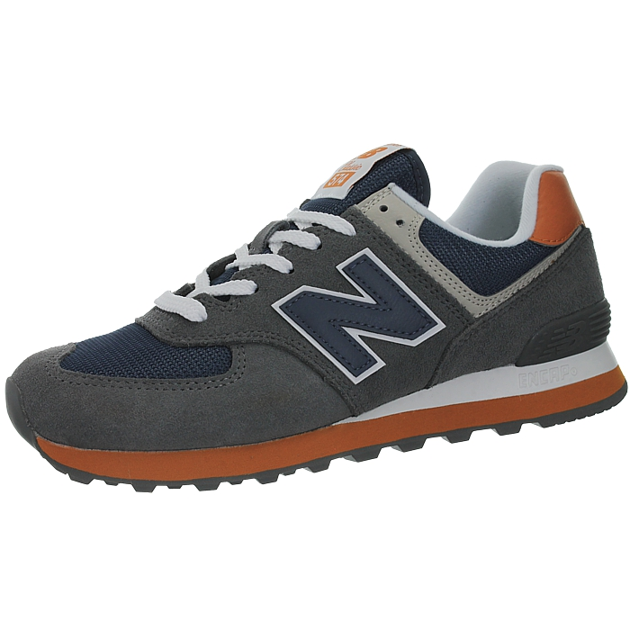 New-Balance-ml574-Classic-574-Hommes-Daim-Low-top-Baskets-RARE-NEUF miniature 29