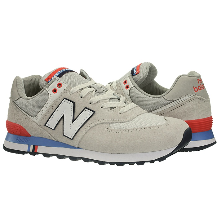New-Balance-ml574-Classic-574-Hommes-Daim-Low-top-Baskets-RARE-NEUF miniature 47