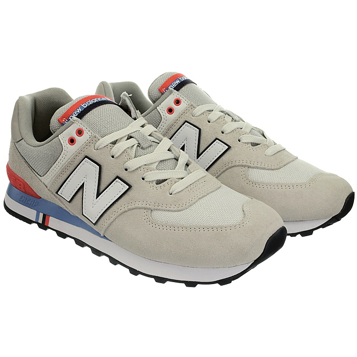 New-Balance-ml574-Classic-574-Hommes-Daim-Low-top-Baskets-RARE-NEUF miniature 48