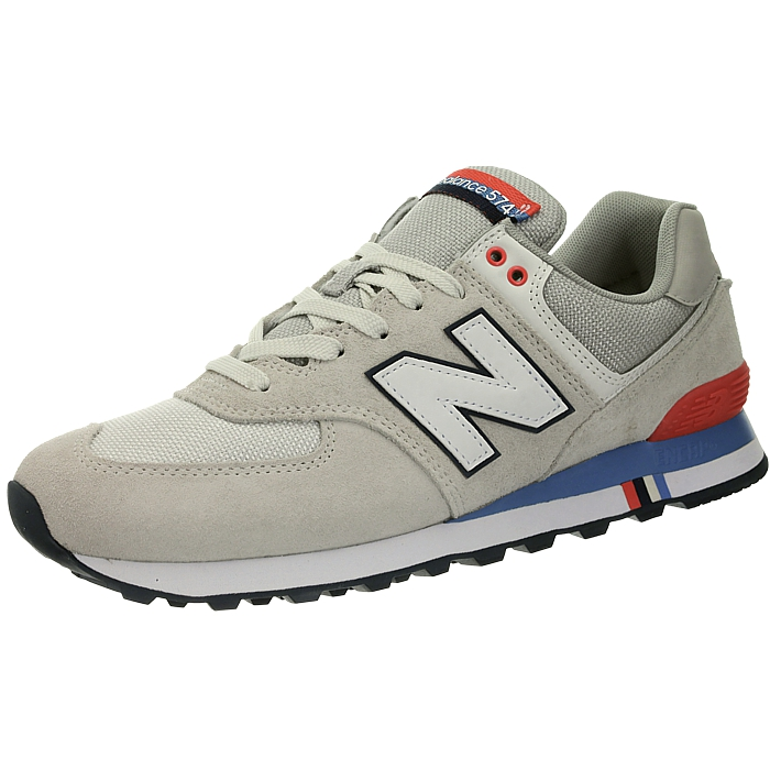 New-Balance-ml574-Classic-574-Hommes-Daim-Low-top-Baskets-RARE-NEUF miniature 49