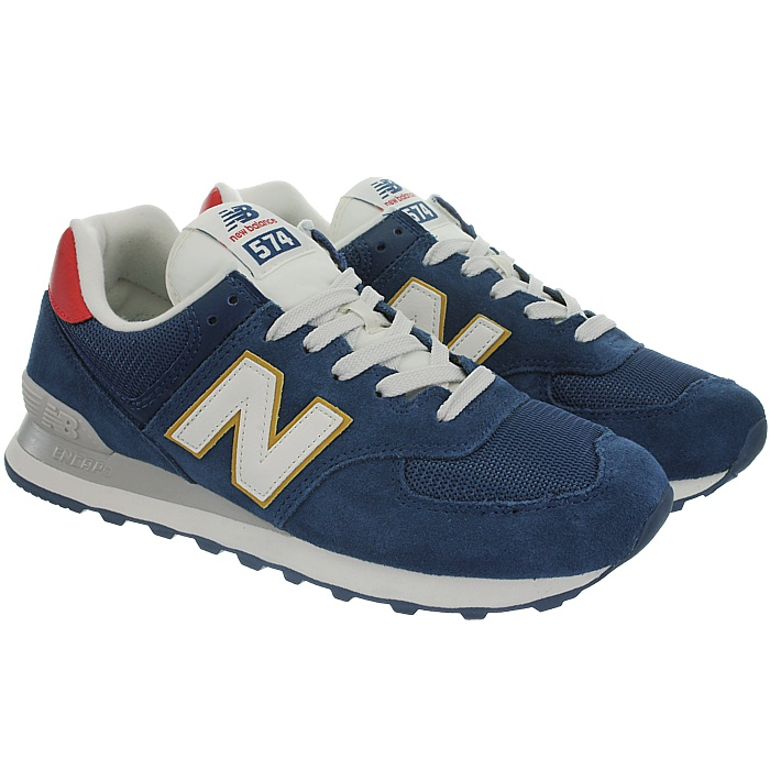 New-Balance-ml574-Classic-574-Hommes-Daim-Low-top-Baskets-RARE-NEUF miniature 36