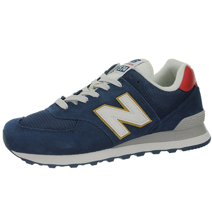 New-Balance-ml574-Classic-574-Hommes-Daim-Low-top-Baskets-RARE-NEUF miniature 37