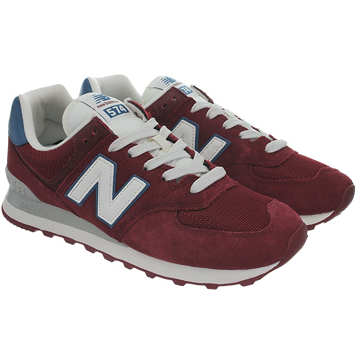 New-Balance-ml574-Classic-574-Hommes-Daim-Low-top-Baskets-RARE-NEUF miniature 32