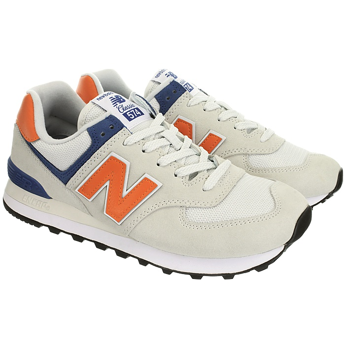 New-Balance-ml574-Classic-574-Hommes-Daim-Low-top-Baskets-RARE-NEUF miniature 12